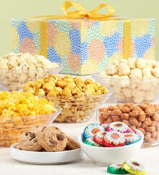 The Popcorn Factory Spring Blossoms Sampler Box