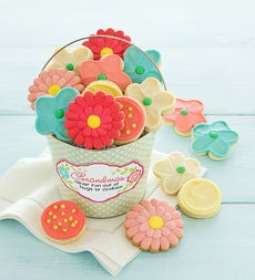 Cheryl's Mothers Day Frosted Cookie Pail - Cheryl's Mothers Day Frosted Cookie Pail - Grandma