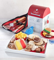 Cheryl's Grill Shaped Box with Treats - Cheryl's Grill Shaped Box with Treats & BBQ Tools