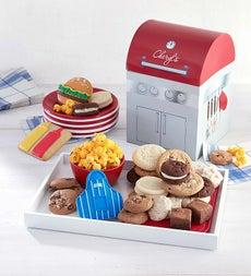 Cheryl's Grill Shaped Box with Treats
