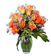 Premium Bouquet of Orange Roses