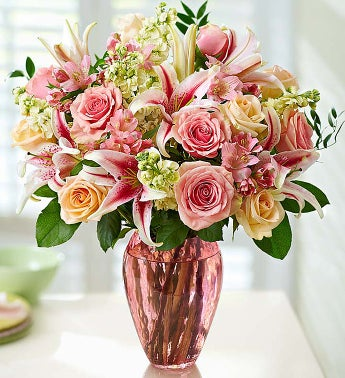 Shades of Pink - Large - 1-800-Flowers