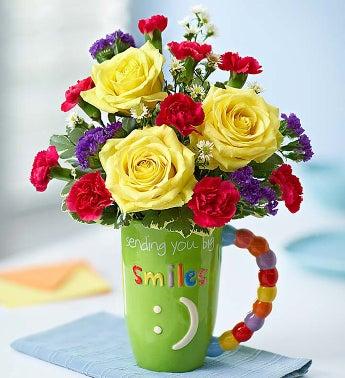 Mugable Sending Big Smiles - 1-800-Flowers