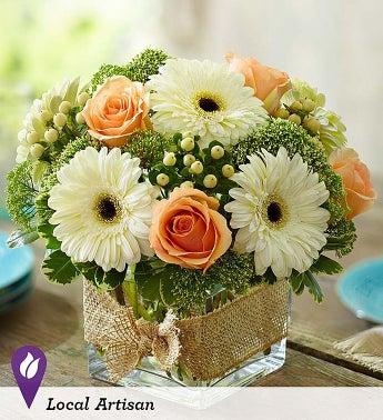 Modern Rose and Gerbera Daisy Bouquet - 1-800-Flowers