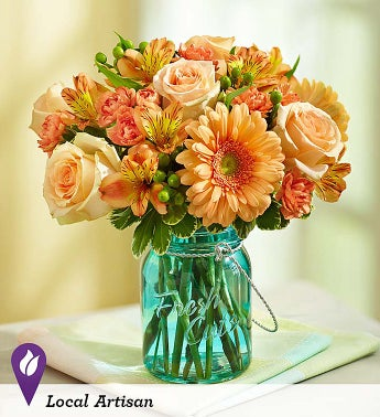 Perfectly Peach - 1-800-Flowers