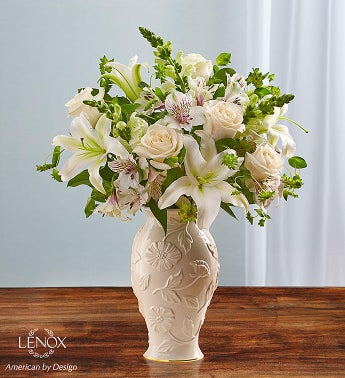 Loving Blooms Lenox White - Small - 1-800-Flowers