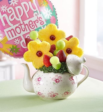 Time for Tea - Time for Tea with Balloon - 1-800-Flowers