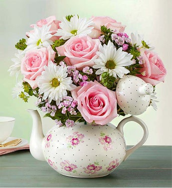 Mom's Tea Party - Large - 1-800-Flowers