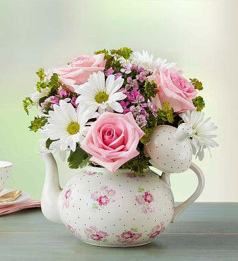 Mom's Tea Party - 1-800-Flowers
