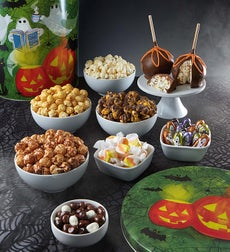 The Popcorn Factory Ghost Stories Snack Tin - Ghost Stories 3.5 Gal Deluxe Snack Assortment Tin