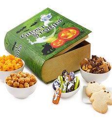 The Popcorn Factory Ghost Stories Book Snack Box