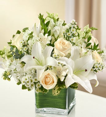 Healing Tears - All White - Large - 1-800-Flowers