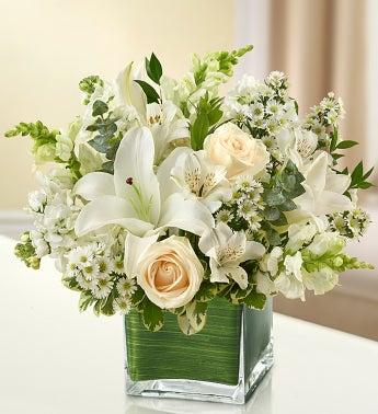 Healing Tears - All White - Medium - 1-800-Flowers
