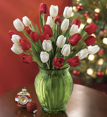 30 stem tulip bouquet