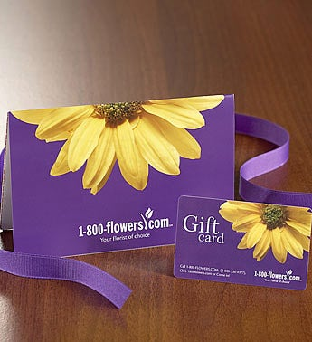 1-800-FLOWERS� Gift Card