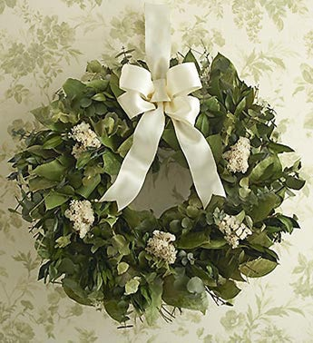 Dried Sympathy Wreath