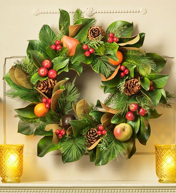 Bountiful Wreath and Garland