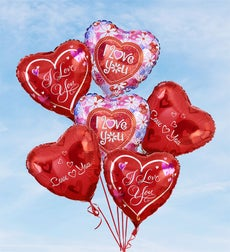 Air-Rangement - Love & Romance Mylar Balloons