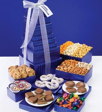 Hanukkah Snacks Gift Basket
