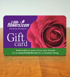 1-800-FLOWERS.COM Gift Card - $75