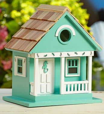 Tweeting by the Sea Birdhouse