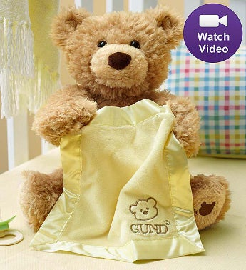 Peek-A-Boo Animated Bear by Gund�
