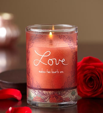 Love Inspirational Candle