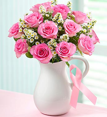 The Pink Ribbon Bouquet�