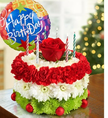 Birthday Flower Cake� for The Holidays