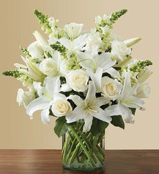 Classic All-White Arrangement - Large