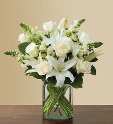 Classic All-White Arrangement - Small
