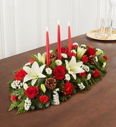 Traditional Christmas Centerpiece - Large