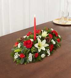 Traditional Christmas Centerpiece - Small