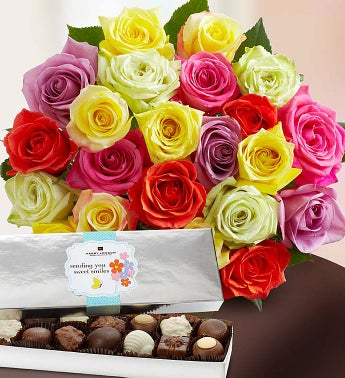 Two dozen assorted roses buy 12 get 12 free bouquet for 12 dozen roses at your door