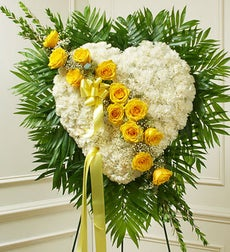 Always in My Heart Floral Heart