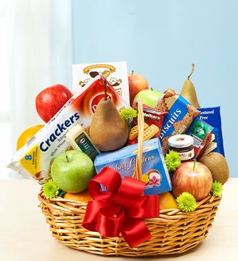 Deluxe Fruit & Gourmet Basket - Small