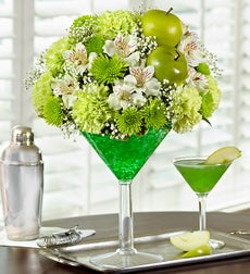 Apple Martini Bouquet - Large