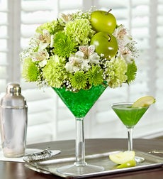 Apple Martini Bouquet - Medium