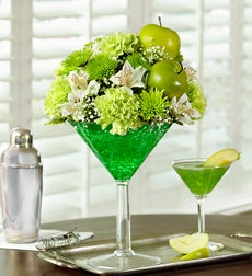 Apple Martini Bouquet - Small