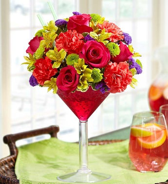 Sangria Bouquet - Extra Large - 1-800-Flowers