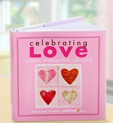 Celebrating Love: Share, Remember, Cherish - Celebrating Love Book