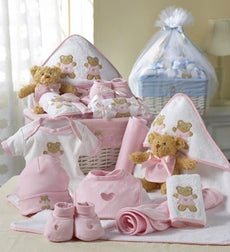 Newborn Girl Comfy Baby Gift Basket