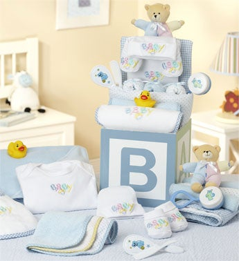 B-is-for-Baby Boy Grand Gift Block