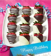 Fannie May Happy Birthday Strawberries