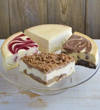Best of Junior's 4-Flavor Cheesecake Sampler