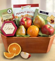 Fresh From The Orchard Fruit Gift Basket