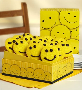 All Smiles Cookie Gift Box and Gift Basket