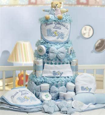 Deluxe Baby-Cakes Boy Essentials