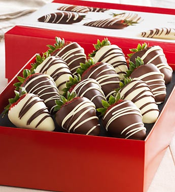Chocolate Strawberries Gift - 1800baskets.com