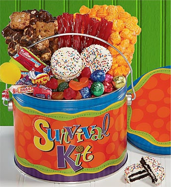 The Popcorn Factory® Survival Kit Treats Pail